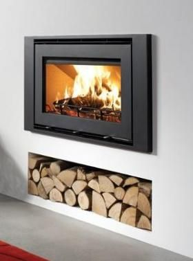 Westfire Woodburing Stoves | Buy 5.9KW Uniq 32 Inset with Wide Frame Online | UK Stoves