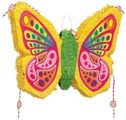 Unique Industries Pinata 19'X23' Butterfly Pop Out by Unique Industries, Inc.. $19.13. Made in China. Weight: .46 ounces. Dimensions: 19.5 in. H x 23.3 in. W x 1.2 in. D. Butterfly Pop-Out