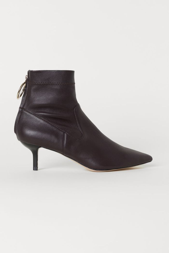 Leather Ankle Boots Ankle Boots Fashion Leather Ankle Boots High Knee Boots Outfit