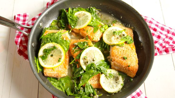 Prepare To Get Hooked On Garlic-Lemon Salmon