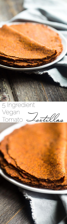 Homemade Sun-Dried Tomato Gluten Free Tortilla Recipe