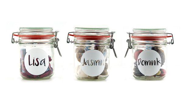 Gutscheine - 3er Set Personalisierte Geldgeschenk Verpackung - ein Designerstück von schoenes-von-Herzen bei DaWanda