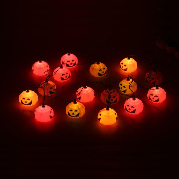 16 шт. отлично тыква лампа замечательный джек   о образным фонарь огни оформлены производство для хэллоуина великий из светодиодов свет шнуракупить в магазине Sweet Life^_^наAliExpress