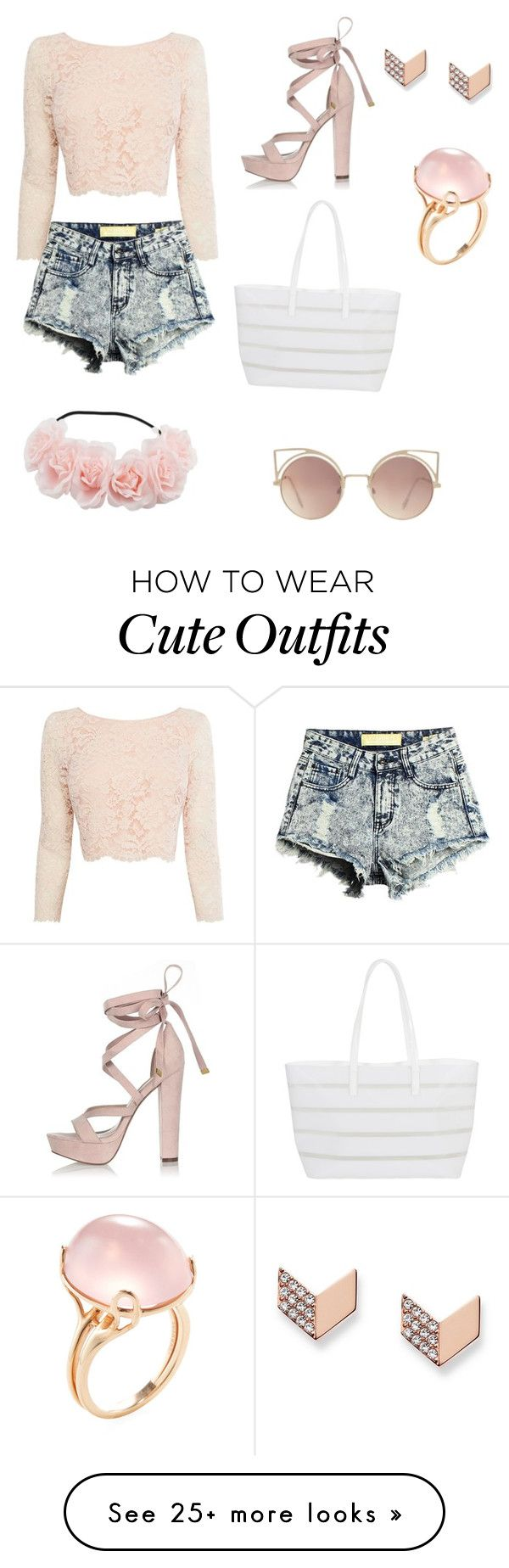 """Cute Summer Outfit"" by kaylafayesmith on Polyvore featuring Coast, River…"