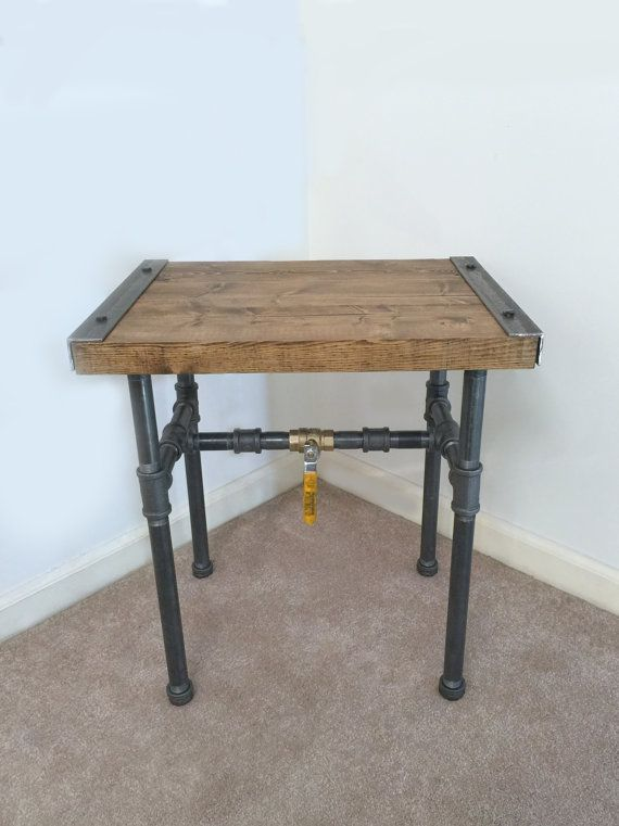 Charming Best 25+ Industrial Side Table Ideas On Pinterest | DIY Furniture From  Junk, Armchair Table And Diy Projects End Tables