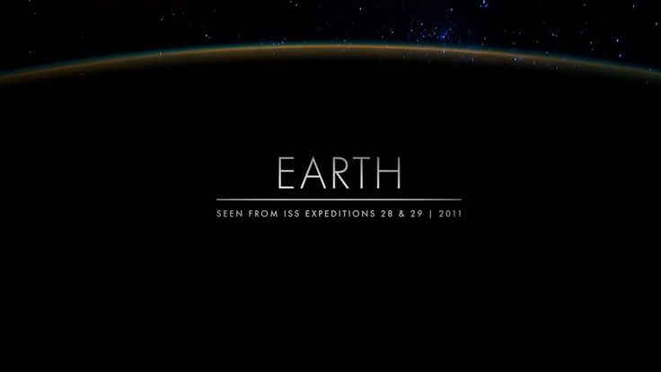 Earth. Time lapse sequences of photographs taken by the crew of expeditions 28 & 29 onboard the International Space Station from August to ...