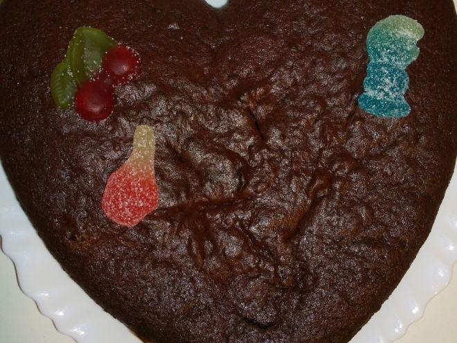 Gâteau au chocolat super light (ww)