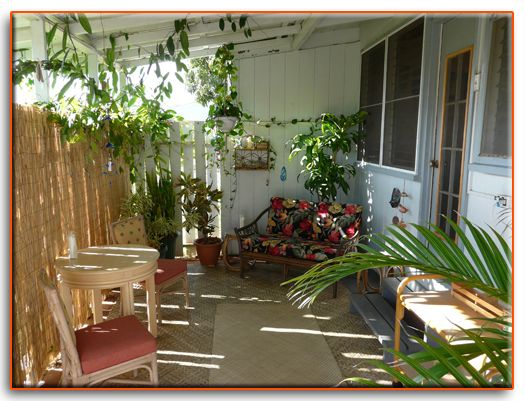 Small space enclosed garden patio lanai ideas for Small lanai decorating ideas