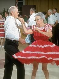 oldsters dancing