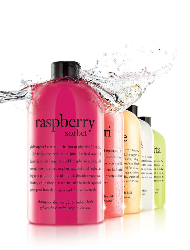 cosmetics Photography- shower gel