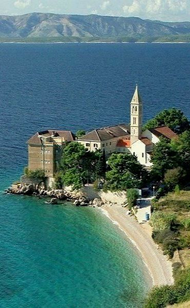 Brač Island, Croatia. Brač is an island in the Adriatic Sea within Croatia, with an unspoiled natural environment.