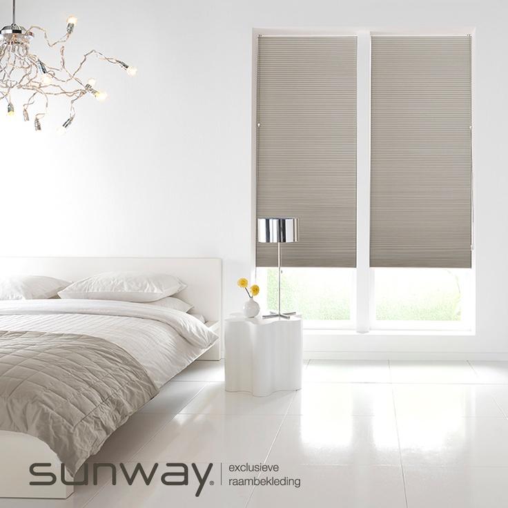 Plissé shades bestaan uit mooie geplooide stoffen in verschillende transparanties, van transparant tot verduisterend.