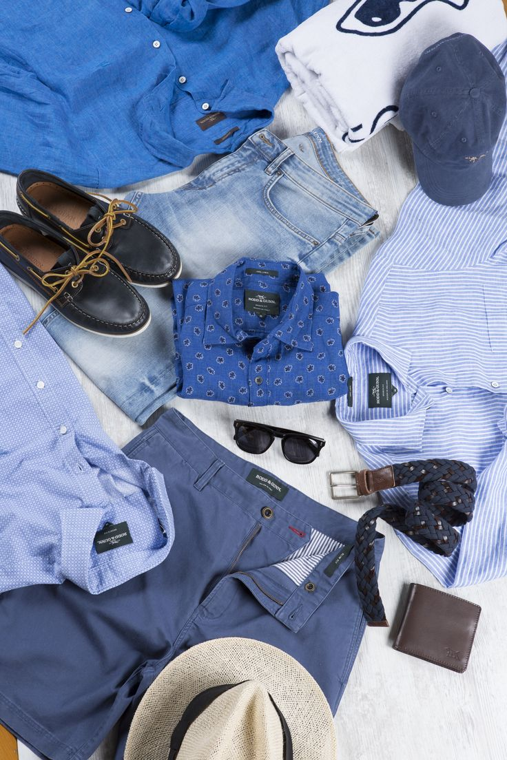 Short sleeve shirts and shorts made from quality materials are all you need from Rodd & Gunn this summer.