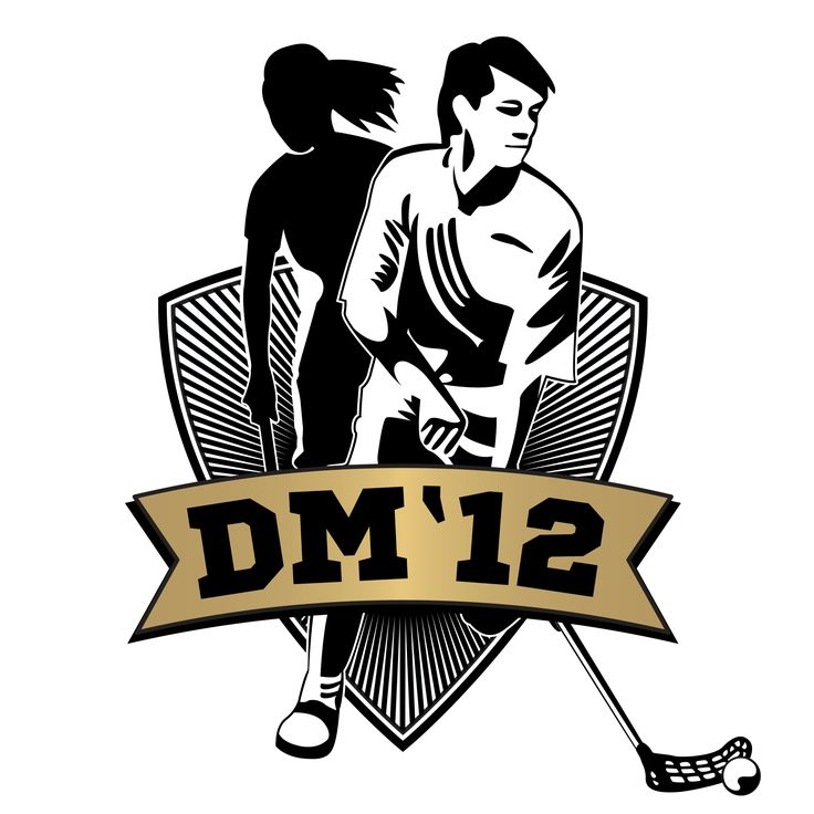 Logo for the floorball DM final 2012. // By Underdogs Reklamebureau