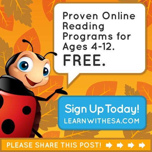 Do you have a child who is struggling with reading? ESA's Online Reading Program for grades K to 6 offers full access to thousands of engaging courses, activities, and fun rewards. Best of all, it's 100% FREE! This is an excellent supplement for any curriculum -- whether to introduce new skills or for review. Click through to sign up for FREE!