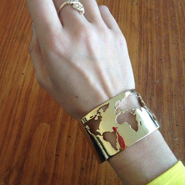 World Cuff by Artelier // ARTELIER http://www.artelier.mx/collections/world/products/world-cuff?variant=4456620165