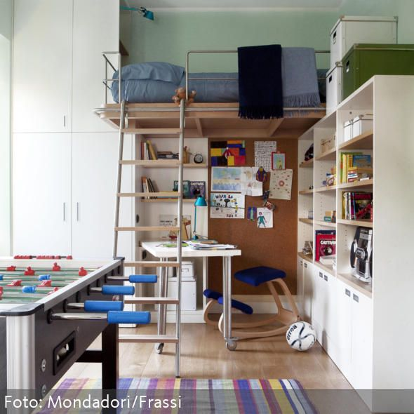8 best Joel hochbett ideen images on Pinterest Desks, Child room - hochbett mit schreibtisch 2