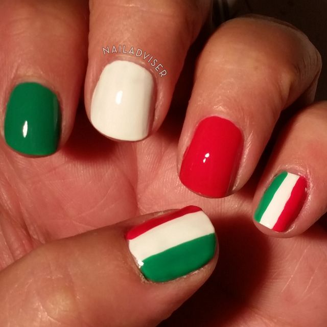 31 Day Challenge 2014 - Inspired By A Flag, italian