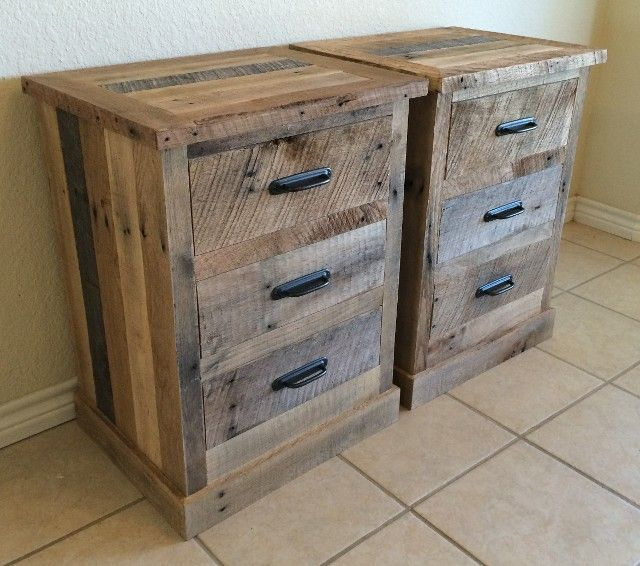 25 best ideas about pallet night stands on pinterest