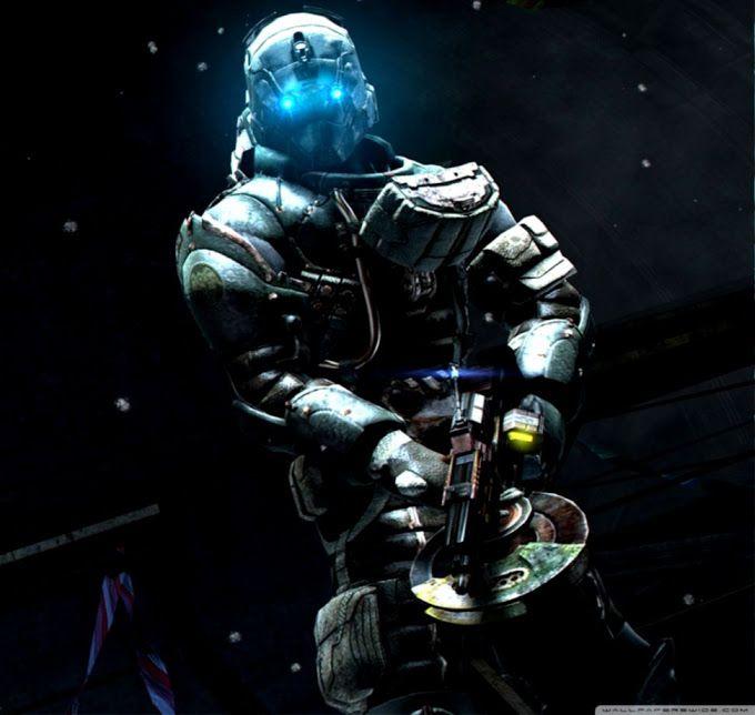 Hd Wallpaper For Desktop And Gadget Dead Space Space Warriors Dead Space Suits