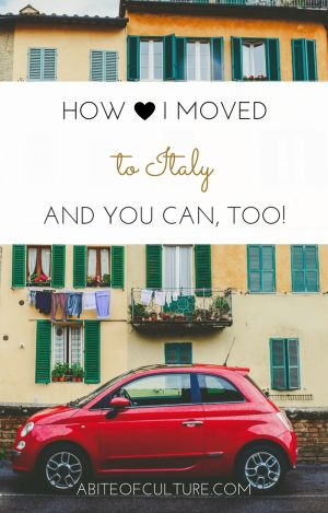 How I Moved to Italy (And You Can, Too)- Becoming an expat in Italy requires a lot of paperwork. Here I've laid out everything I did and all the steps I took to move to Italy on a student visa.