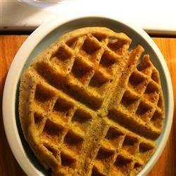 Great Easy Waffles Allrecipes.com | Breakfast | Pinterest | Waffles
