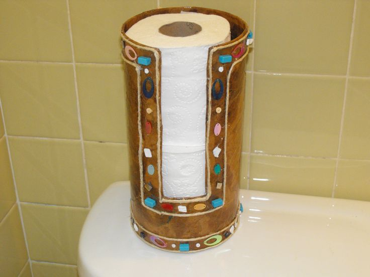 Oatmeal Container Tissue Holder
