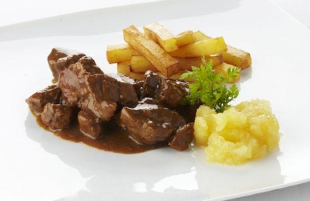 Stoofvlees met frietjes