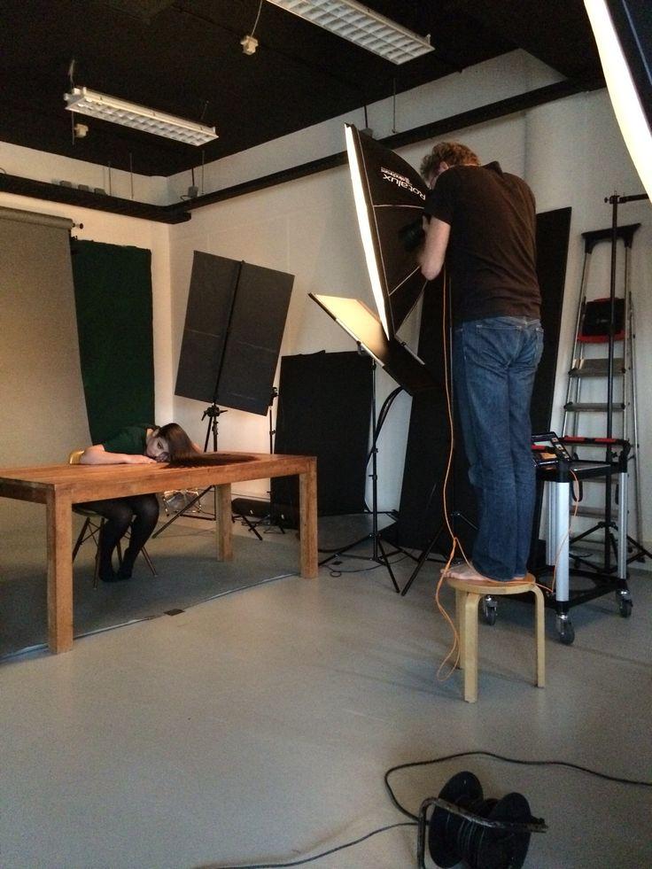 Behind the scène at studio westerhuis