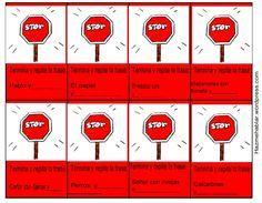 Dado los pocos recursos materiales para trabajar la disfemia en niños, me animé a realizar el siguiente juego. Es muy sencillo. Sólo se necesitan fichas y plastificar las tarjetas y la lámina para ...