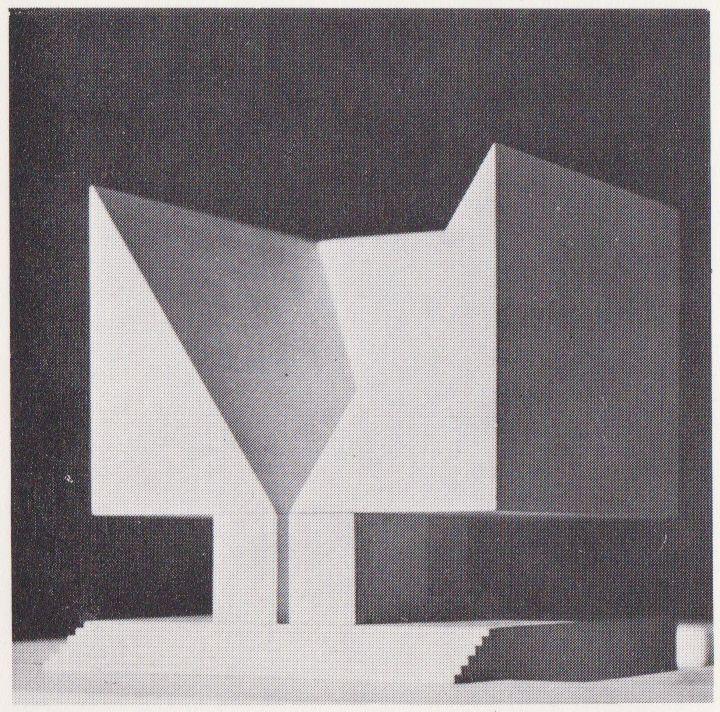 icancauseaconstellation:    Aldo Rossi: Memorial German Opposition,1962