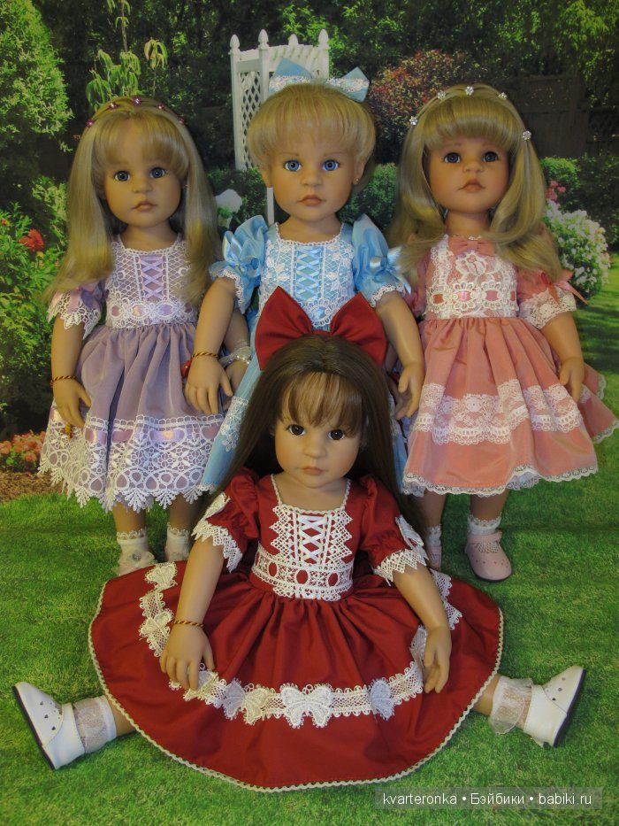 Моя коллекция кукол Жизель / Куклы Gotz - коллекционные и игровые Готц / Бэйбики. Куклы фото. Одежда для кукол