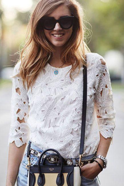 Clubwear Tops : Top de flores