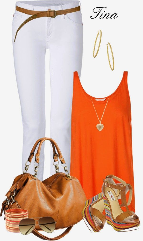 Recent new color obsession... ORANGE ;)