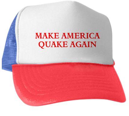 Ball Cap Quake Again