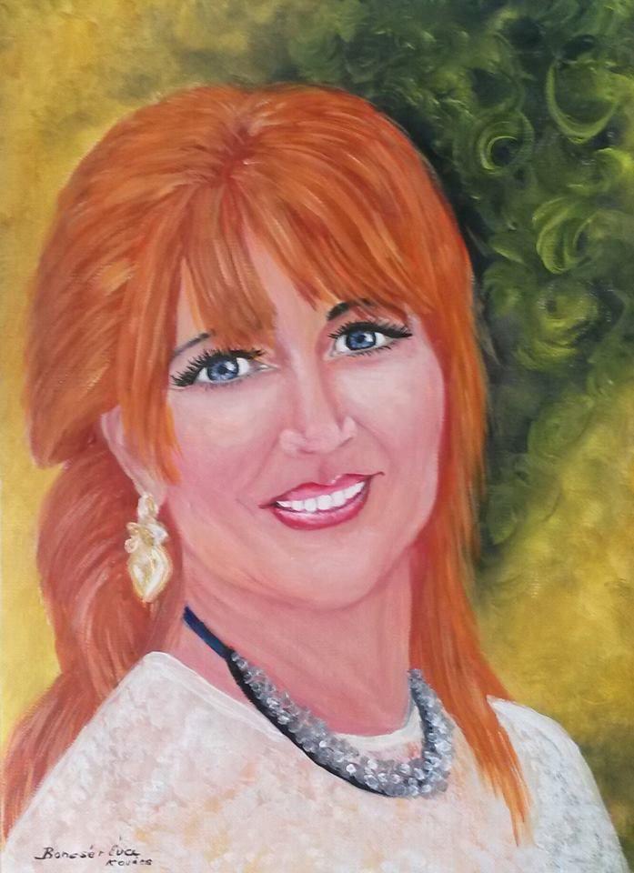 Portrék - Éva Kovács Artist Painter Hungary