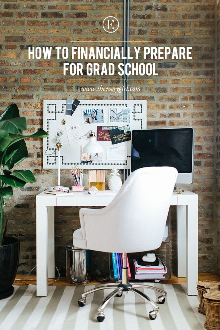 grad school resume objective%0A How to Financially Prepare For Grad School  theeverygirl