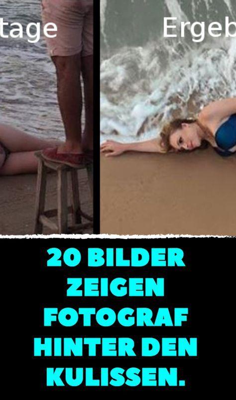 20 Bilder zeigen Fotograf hinter den Kulissen.