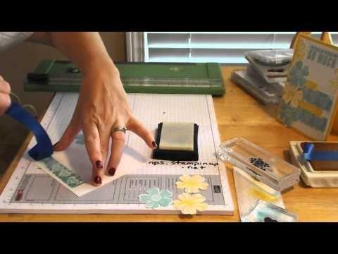 ▶ Brand New Technique: Faux Washi Tape Technique! - YouTube
