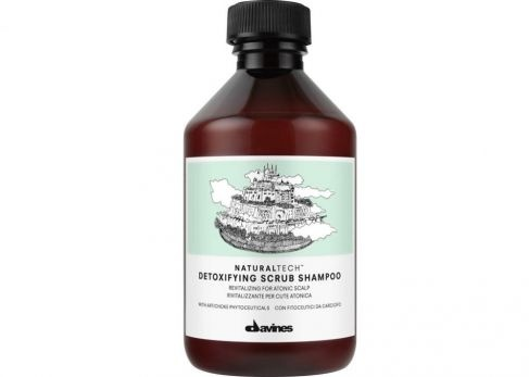 davines detoxifying scrub shampoo $25