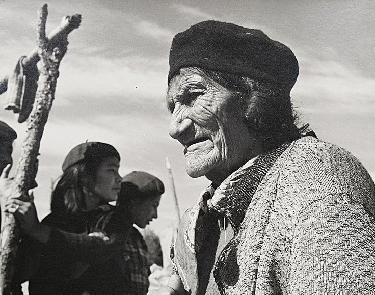 Ed Clark, Montagnais Indians, 1953