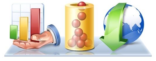 Database Application #icons by ArtistsValley