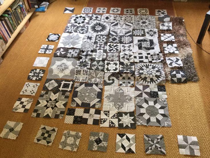 Preliminary layout ... No borders yet !!!!