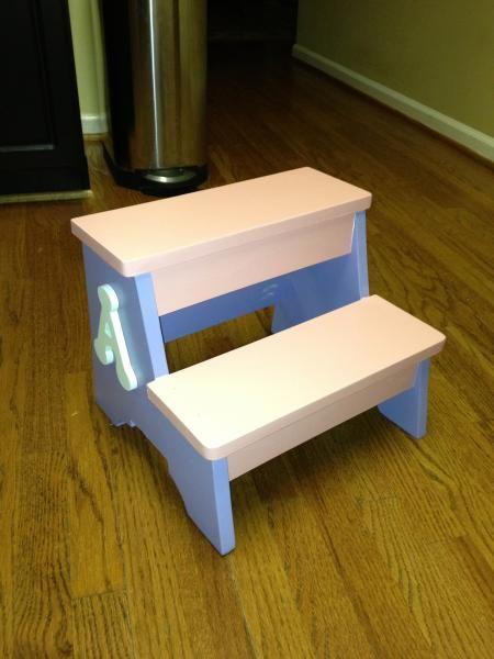 toddler step stool diy woodworking projects plans. Black Bedroom Furniture Sets. Home Design Ideas