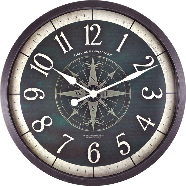 FirsTime Compass Rose Wall Clock