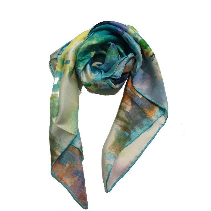Silk scarf 9267