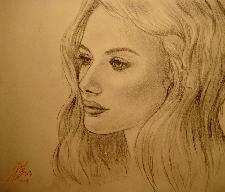 Romola Garai by hamhamer, drawing  http://RomolaGarai.org