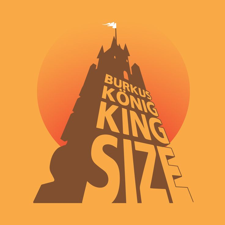 Burkus König 'King Size' Album Cover by Jung András. King Size will be available on Bandcamp: http://bit.ly/bkdlpnt #BurkusKönig #BurkusKonig #BurkusKoenig  #KingSize #dub #psychedellic #castle #orange #sunset #flyer #AlbumCover
