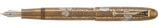 Namiki Limited Edition The Golden Rose Fine Point Fountain Pen