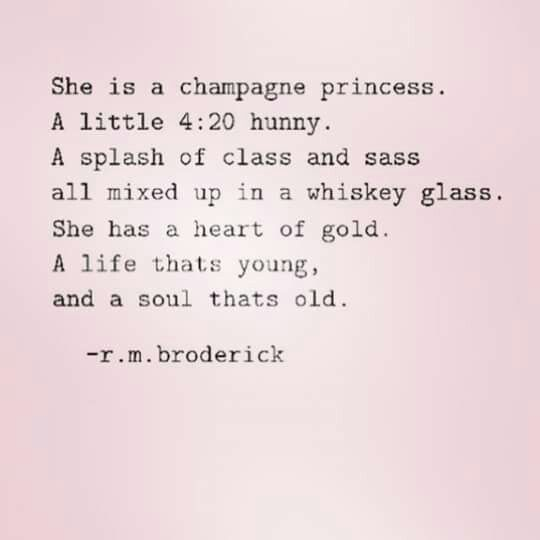Champagne princess